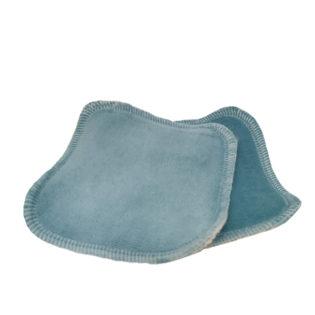 ApiAfrique reusable blue cleansing pads
