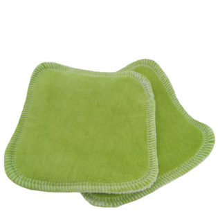 ApiAfrique green reusable cleansing pads