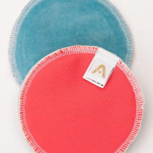 Coussinet d'allaitement réutilisable en coton ApiAfrique